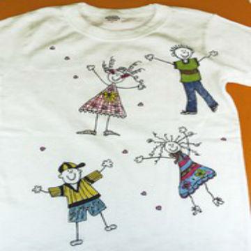 07a91f3f9c01 Μπλουζάκια Ζωγραφισμένα στο Χέρι : kidsfun.gr