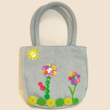 Τσάντα από Ύφασμα για Βόλτα