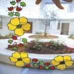 Διακοσμητικά Λουλούδια στο Τζάμι