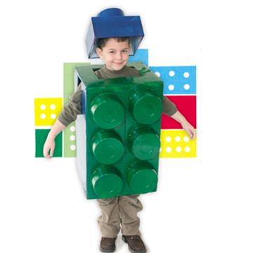 Αποκριάτικη Στολή Τουβλάκι lego
