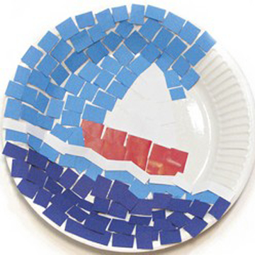 Διακοσμητικό Ψηφιδωτό Πιάτο για το Σπίτι