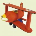 Αεροπλανάκι από Ρολό Κουζίνας