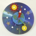 Ρολόι Τοίχου Διάστημα για το Παιδικό Δωμάτιο