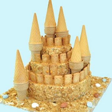 Τούρτα Παγωτό Κάστρο