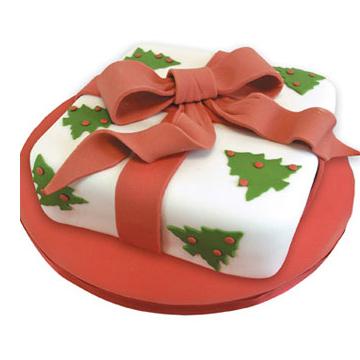 Συνταγή για Χριστουγεννιάτικη Τούρτα Δώρο