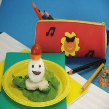 Σνακ για το Σχολείο, Αυγό με Καπέλο