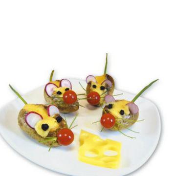 Πατάτες Φούρνου Ποντικάκια