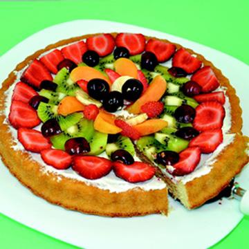 Πίτσα με Φρούτα
