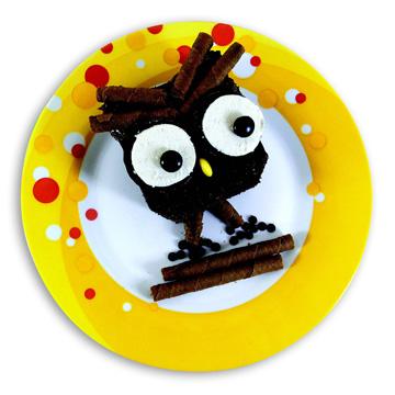 Κέικ Σοκολάτας Κουκουβάγια