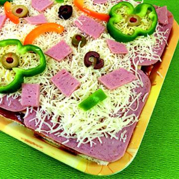 Πίτσα Μαργαρίτα για Παιδιά