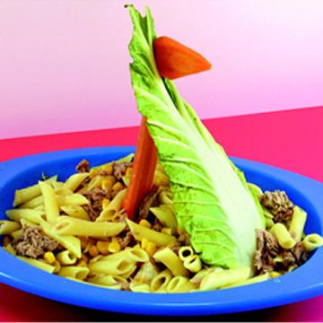 Σαλάτα με τόνο & λαχανικά