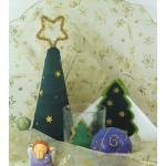 Χριστουγεννιάτικο Διακοσμητικό Δέντρο για το Τραπέζι