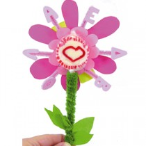 Πρόσκληση Γενεθλίων Λουλούδι με Όνομα