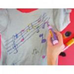 Δώρο Μπλουζάκι με Νότες για Μουσικό Παιδικό Πάρτι