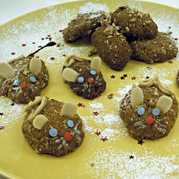 Χριστουγεννιάτικα Μελομακάρονα Ποντικάκια