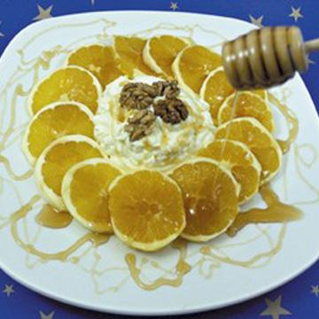 Πορτοκάλια με μέλι
