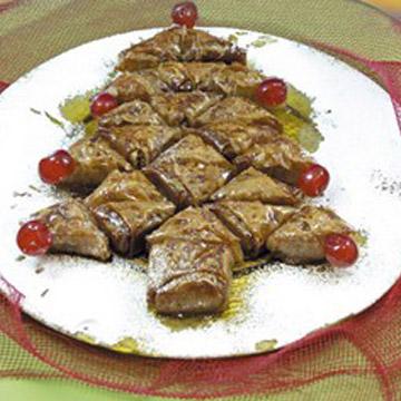 Συνταγή για Χριστουγεννιάτικο Μπακλαβάς