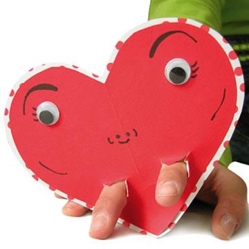 Δαχτυλόκουκλα Καρδιά