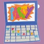 Πρόσκληση Laptop για Παιδικό Πάρτυ