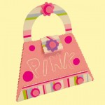 Πρόσκληση Τσαντάκι στο Παιδικό Πάρτυ για Κορίτσια