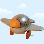 Πασχαλινή Κατασκευή Αυγό Αεροπλάνο