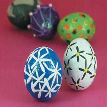 Διακοσμητικά Πασχαλινά Αυγά με Τέχνη