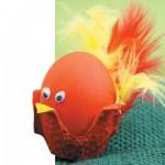 Πασχαλινή Κατασκευή Κοτοπουλάκι Αυγό