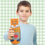 Πρόσκληση για Παιδικό Πάρτυ Ρομπότ