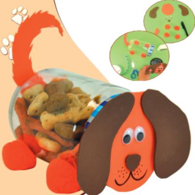 Εύκολη Κατασκευή Βαζάκι για Μπισκότα Σκύλου