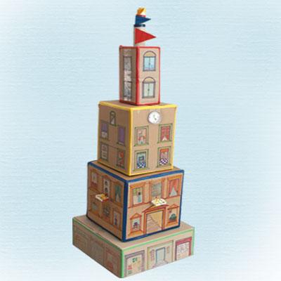 Παιδική Κατασκευή από Χαρτόκουτα, Ουρανοξύστης