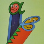Χάρτινοι Σελιδοδείκτες με Γράμματα