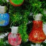 Χρωματιστές Λάμπες για Χριστουγεννιάτικα Στολίδια για το Δένδρο