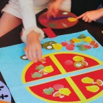 Επιτραπέζιο Παιδικό Παιχνίδι Pizza