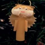 Χριστουγεννιάτικα Στολίδια Αγγελάκια από Μακαρόνια