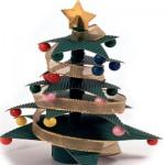 Χριστουγεννιάτικο Διακοσμητικό Δέντρο με Αστέρια
