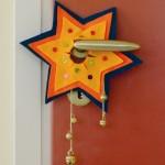 Χριστουγεννιάτικη Κατασκευή Αστέρια από Τσόχα