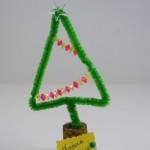 Χριστουγεννιάτικο Δώρο Δεντράκι από Σύρμα Πίπας