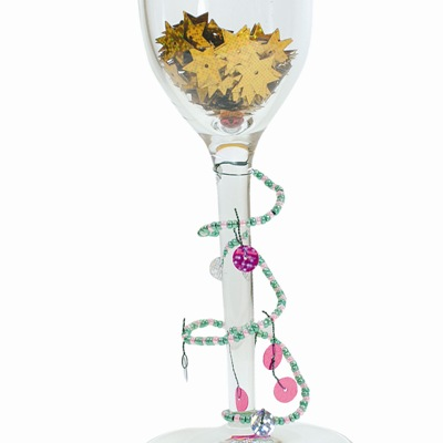 Χριστουγεννιάτικη Διακόσμηση με Ποτήρι