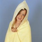 Παιδικό Μπουρνούζι από μια Πετσέτα Μπάνιου