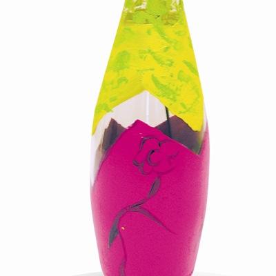 Κατασκευή Βάζο με Γυάλινο Μπουκάλι