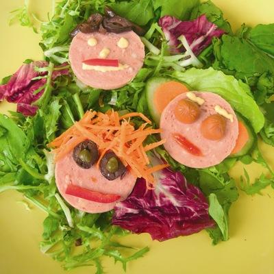 Αλμυρό Σνακ με Λαχανικά σε Σχήμα Φατσούλες για τα Παιδιά
