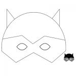 Αποκριάτικη Μάσκα Σούπερ ήρωας Μπάτμαν