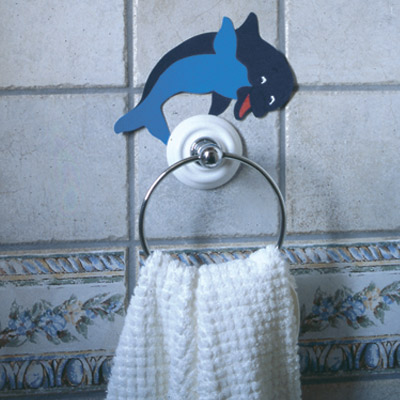 Κατασκευή Δελφίνι για τις Κρεμάστρες στο Μπάνιο