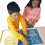 Παιδική Ζωγραφιά με Μακαρόνια