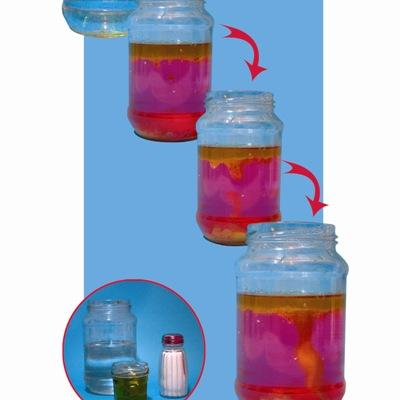 Ιδέα για Πείραμα με Νερό και Λάδι