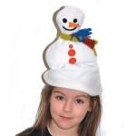 Χειμωνιάτικος Σκούφος Χιονάνθρωπος