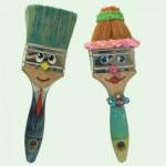 Διακοσμητικές Κούκλες από Πινέλα