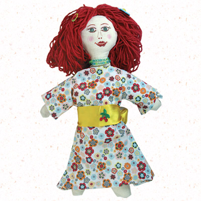 Κατασκευή Πάνινης Κούκλας για Κορίτσια