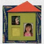 Παιδική Κατασκευή Χάρτινη Κορνίζα