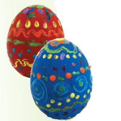Πασχαλινά Αυγά Με Χρυσόσκονη